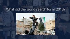 Tendencias Top globales de búsquedas de Personas, Eventos y Productos de Electrónica de Consumo del 2013 en Google