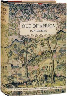 my pleasure & books - Out of Africa.