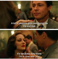 Allied movie quote