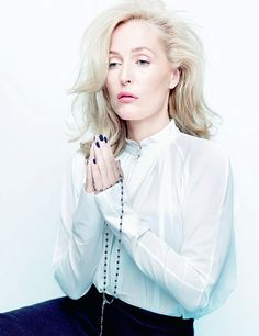 Gillian Anderson photographed by Rankin for The Hunger magazine, issue #5.