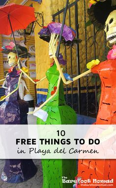 Playa del Carmen is known as one of Mexico's most expensive destinations, but it is possible to have a great time in Playa on a budget.  Admittedly, we did have to dig pretty deep in the four months we spent in Playa to find free activities. That said, our list of free things to do in Playa del Carmen should keep you busy, even if you don't have much cash to spend.
