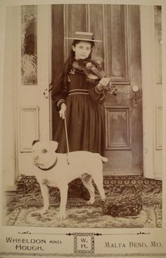Blanche Fulton Monsees of Malta Bend, Missouri - c. 1880s - (Via)