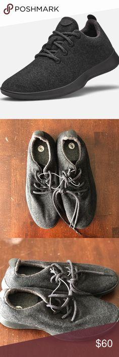 56c11249ae4 Allbirds Black Wool Runners Allbirds black wool runners. Men s size 9.  Minor wear.