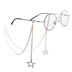 New Fashion Womens Penadant Eyeglass Chains Hollow Star Sunglasses Reading Glasses Chain Eyewears Cord Holder Neck Strap Rope Cute Jewelry, Beaded Jewelry, Mode Lolita, Accesorios Casual, Fashion Eye Glasses, Cute Glasses, Fantasy Jewelry, Reading Glasses, Eyeglasses
