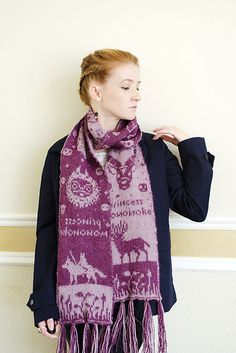 Ravelry: Mononoke Double Knit Scarf pattern by Sheila Toy Stromberg
