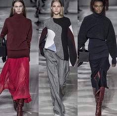 victoria beckham. fall 2017. fashion. runway. favorite looks. love it.