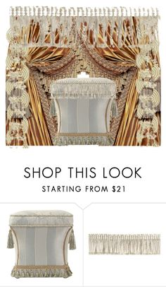 """tassels and trim"" by sony-effe ❤ liked on Polyvore featuring interior, interiors, interior design, home, home decor, interior decorating and GREEN"