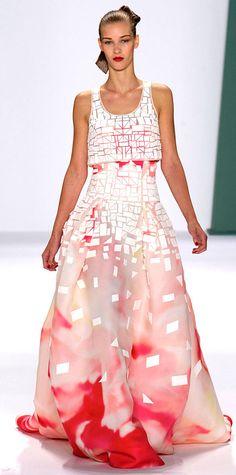Runway Looks We Love: New York Fashion Week - Spring/Summer 2015 from #InStyle  Carolina Herrera