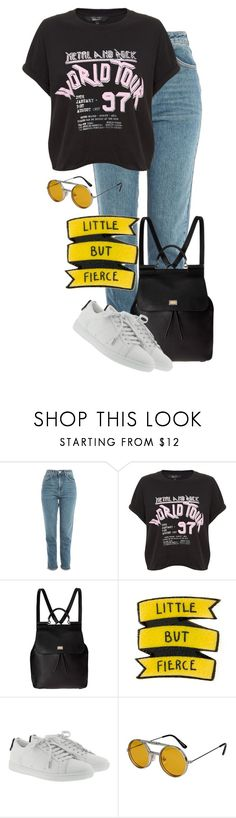 """""""little but fierce"""" by vincentvangoth ❤ liked on Polyvore featuring Topshop, Dolce&Gabbana, Yves Saint Laurent and Spitfire"""