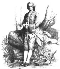 Jean-Jacques Rousseau, gravure de Thévenin d'après Gleyre, Montmorency, musée J.-J.Rousseau