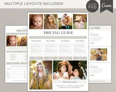 Sweet Little Muse Photography Templates by SweetLittleMuse