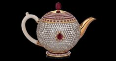 Officially certified by the Guinness Book of Records, the $3 million Egoist is the most valuable teapot in the world.