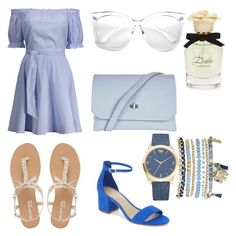 """""""summer look #3"""" by niveious on Polyvore featuring Head Over Heels by Dune, ALDO, Topshop, ZeroUV, Dolce&Gabbana and Mixit"""
