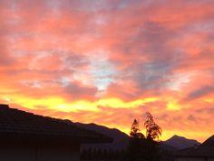 L'alba di un nuovo giorno.. A Clusone