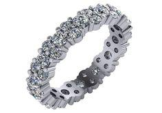 Unique Diamond Wedding Band/ Trendy Wedding Ring/ by AainaJewels