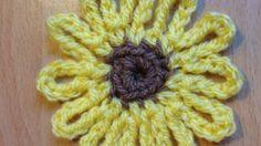 Crochet a Cute Sunflower - DIY Crafts - Guidecentral