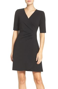Adrianna Papell Ruched A-Line Dress available at #Nordstrom