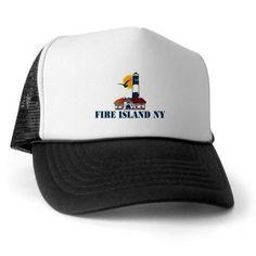 Fire Island Trucker Hat on CafePress.com