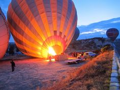 Fly With Colorful Balloons Over Cappadocia