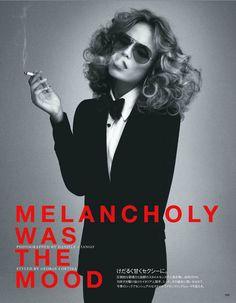 Melancholy Was The Mood | Natasha Poly | Daniele + Iango #photography | Vogue Japan May 2012