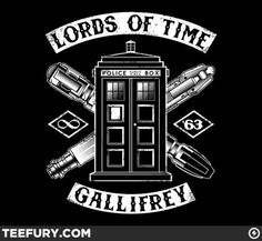 Haven't really sat down and watched Doctor Who, but I saw somebody wearing this in a video. I actually thought this was a cool looking design, and I'd really would like to see this made as an embroidered back patch set. ^__^ \m/