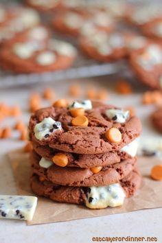 Butterscotch Cookies 'n Cream Cake Mix Cookies