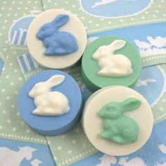Easter - April 20, 2014 - Chocolate Covered Oreos Easter Bunny Cookie Mold