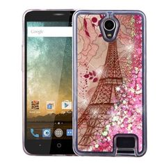 Insten Eiffel Tower Hard Snap-on Case Cover For ZTE Avid Plus/ Avid Trio/ Prestige/ Prestige 2 N9136/ Sonata 3