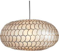 Home Lighting, Modern Lighting, Pendant Lighting, Kitchen Lighting, Cheap Lighting, Entryway Lighting, Lighting Design, Capiz Chandelier, Chandeliers