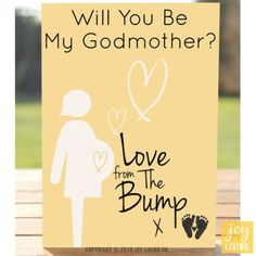 Will you be my godmother made for a friend my doings love from the bump will you be my godmother greeting card pregnancyexpe m4hsunfo