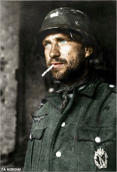 German soldier, Stalingrad, 1942.