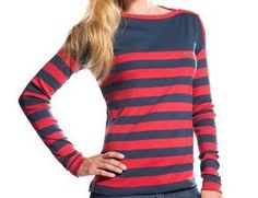I've always loved stripes...this is a fun color combo!