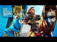 Zelda: Breath of the Wild, Horizon Zero Dawn, Torment: Tides of Numenera - New Releases - http://gamesitereviews.com/zelda-breath-of-the-wild-horizon-zero-dawn-torment-tides-of-numenera-new-releases/