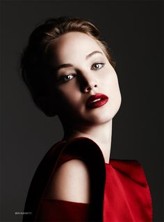 Jennifer Lawrence by Ben Hassett for Harper's Bazaar UK, November 2013