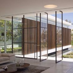 """""""Glass... by Pitsou Kedem. #homedesign #lifestyle #style #designporn #interiors #decorating #interiordesign"""""""