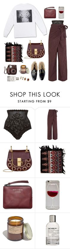 """""""is it true"""" by millicent4 ❤ liked on Polyvore featuring Triumph, Marni, Chloé, Friis & Company, Fujifilm, Acne Studios, Wet Seal, Madewell, Le Labo and Forever 21"""