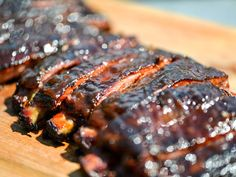 Smoky and Spicy Apricot-Glazed Barbecue Ribs borrow a sweet, fruity flavor from the apricot preserves and a little spicy kick from the chipotle chiles!