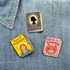 Because they now have book pins. I repeat, they have PINS OF BOOKS.