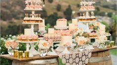 15 Awesome Ideas For Unique Wedding Dessert Tables
