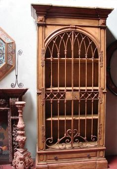 Cabinet - Spanish revival furniture.com