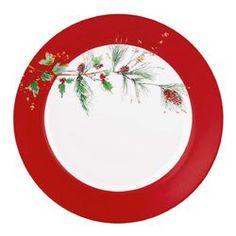 """Winter Song 11.25""""  Dinner Plate"""