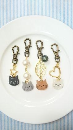 【再販26】かわいい 愛猫キーホルダー。
