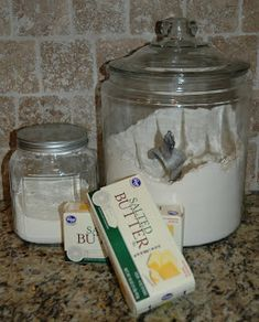 Prepared NOT Scared!: Food Storage Meals & Menu Planning - Magic Mix-used for so many things, like : Breakfast: Creamed Eggs on Toast! Homemade Dry Mixes, Homemade Spices, Homemade Soup, Mason Jar Desserts, Mason Jar Meals, Creamed Eggs On Toast, Kfc Chicken Recipe, Canning Food Preservation, Dessert In A Jar