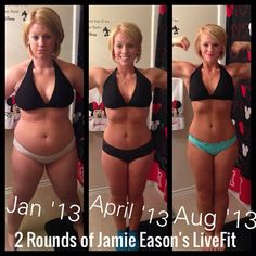 So if you're like me, sometimes its hard to feel motivated to work out or eat clean. I have talked about this before, but Jamie Eason's 12 week program was not the first weightloss prog…