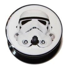 Star Wars Stormtrooper PMMA Acrylic Screw-Fit Plug