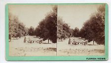Orange City Florida Stereoview By MM & WH Gardner of Atlanta Georgia #28