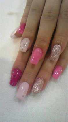 For non-toxic, fabulous Gel Nails at Home be sure to pick up our Gel Nails Kit.Our Color Changing makes our line tops in DIY Gel Nails. Get Nails, Fancy Nails, Love Nails, Pink Nails, Jewel Nails, Fabulous Nails, Gorgeous Nails, Pretty Nails, Beautiful Nail Designs