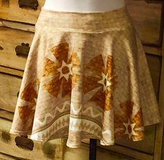 Moana disney premium spandex fabric running skirt with