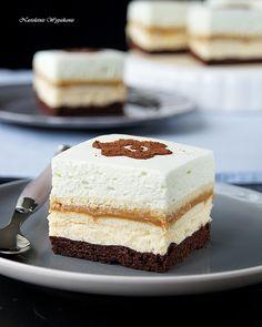Przekładaniec Agi | Nastoletnie Wypiekanie Polish Cake Recipe, Polish Recipes, Happy Foods, Yummy Cakes, Vanilla Cake, Nutella, Delicious Desserts, Tart, Cake Recipes