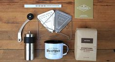 Stumptown Heavy Duty brew kit. Similar to the Blue Bottle kit, but for the lumbersexual